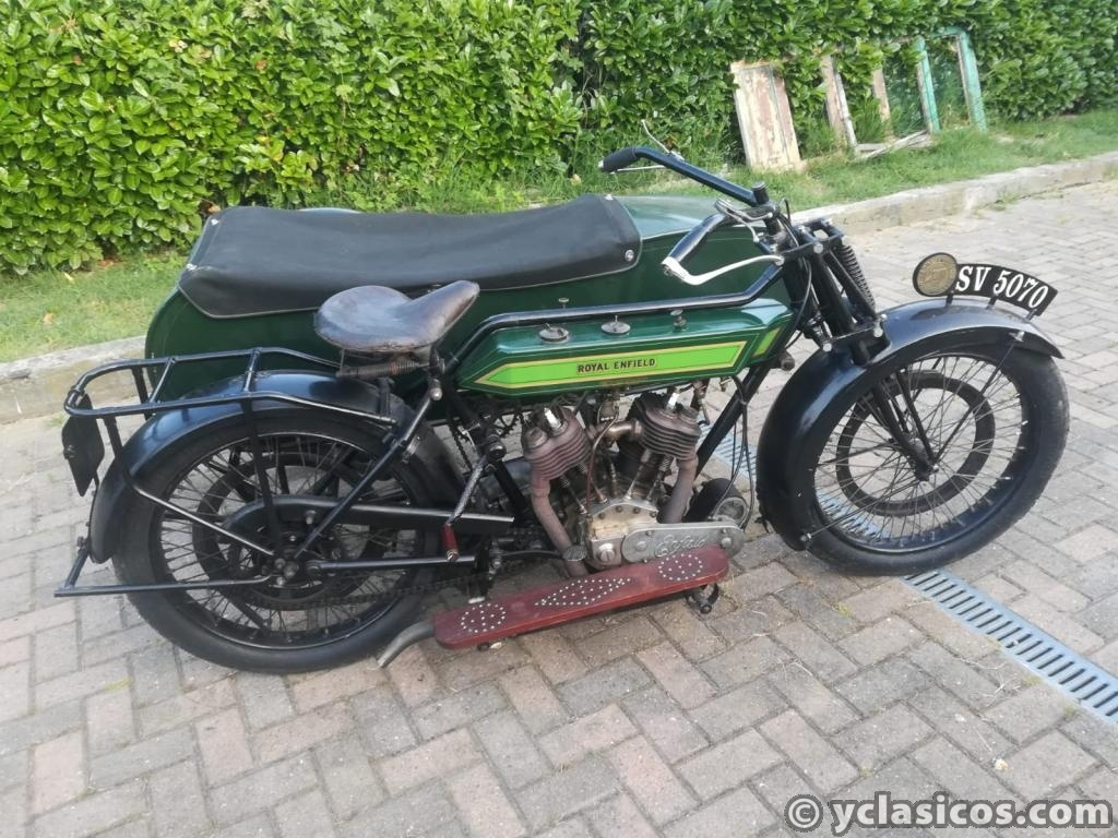 Royal Enfield 1000cc V-twin - 1922