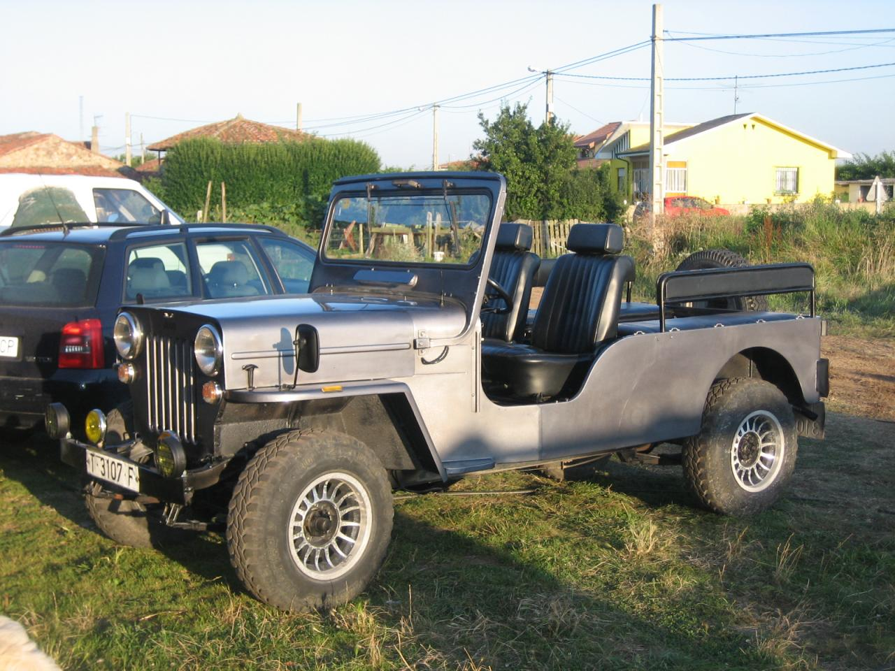 Jeep Willys Viasa CJ6 Diesel homologado 8 plazas