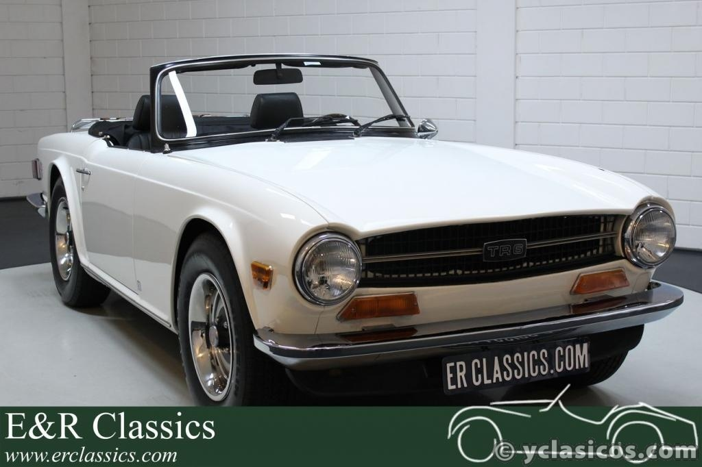 Triumph TR6 Cabriolet 1973 Old English White