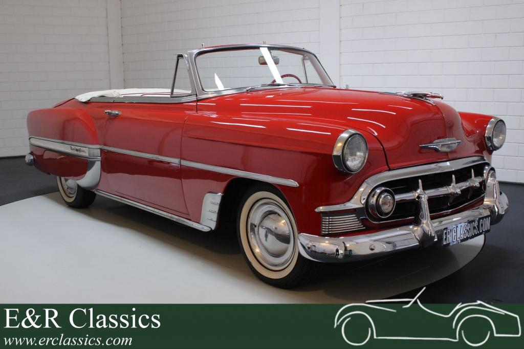 Chevrolet Bel Air 1953 convertible in beautiful condition