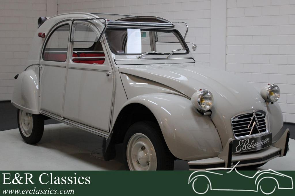 Citroen 2CV extensively restored 1963