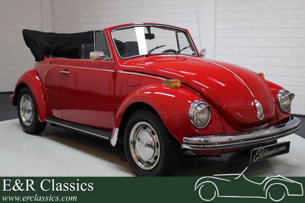 Volkswagen Beetle 1302 cabriolet extensively restored 1971