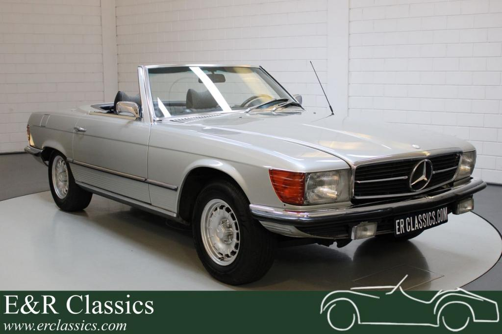 Mercedes-Benz 350SL Roadster very well maintained 1971