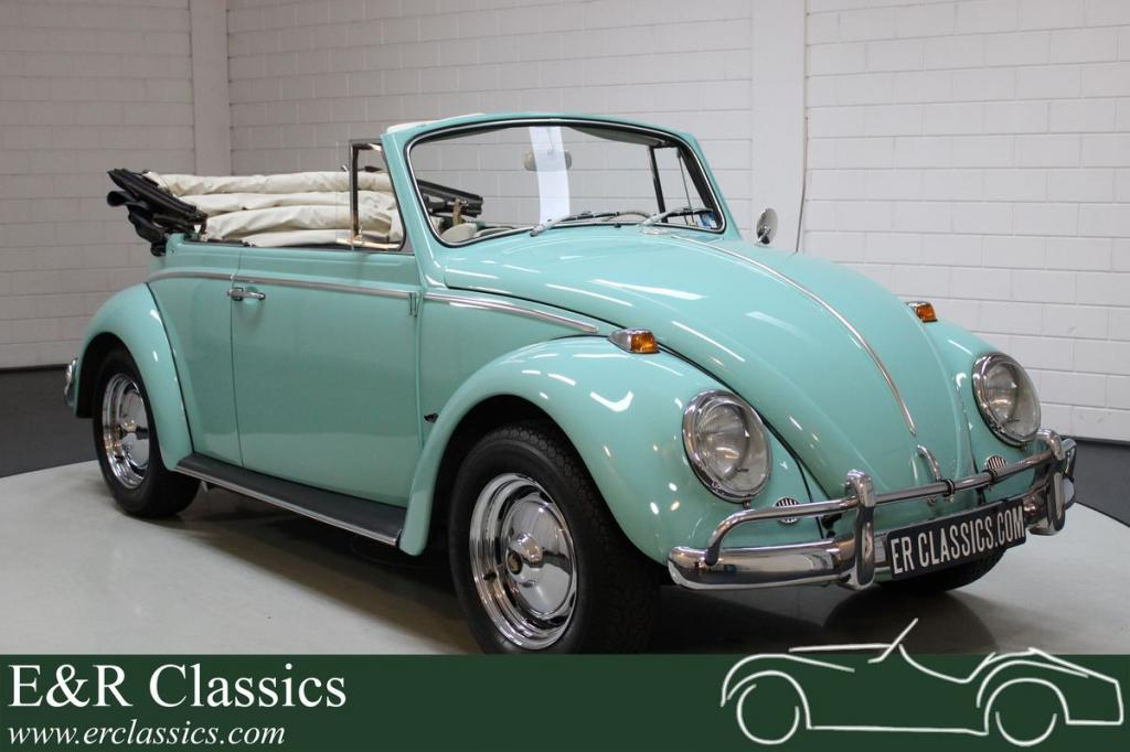 Volkswagen Beetle cabriolet 1965 extensively restored