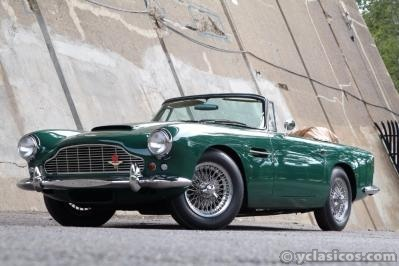 Aston Martin Db4c convertible