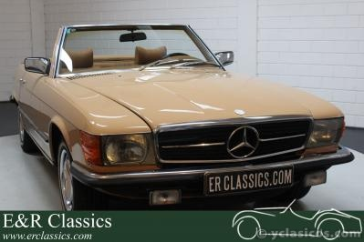 Mercedes-Benz 450SL Cabriolet 1979 Unique color combination