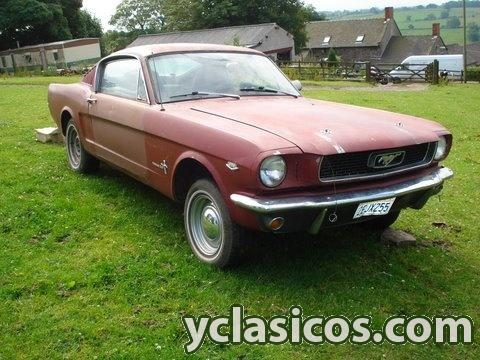 Mustang fastback para restaurar portal compra venta - Clasico para restaurar ...