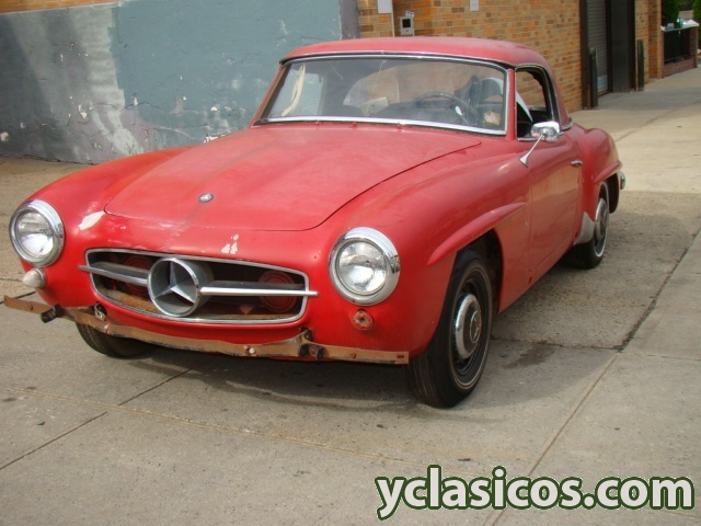 Mercedes 190sl para restaurar portal compra venta - Clasico para restaurar ...