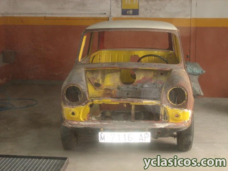 Mini 850 para restaurar documentado portal compra venta - Clasico para restaurar ...