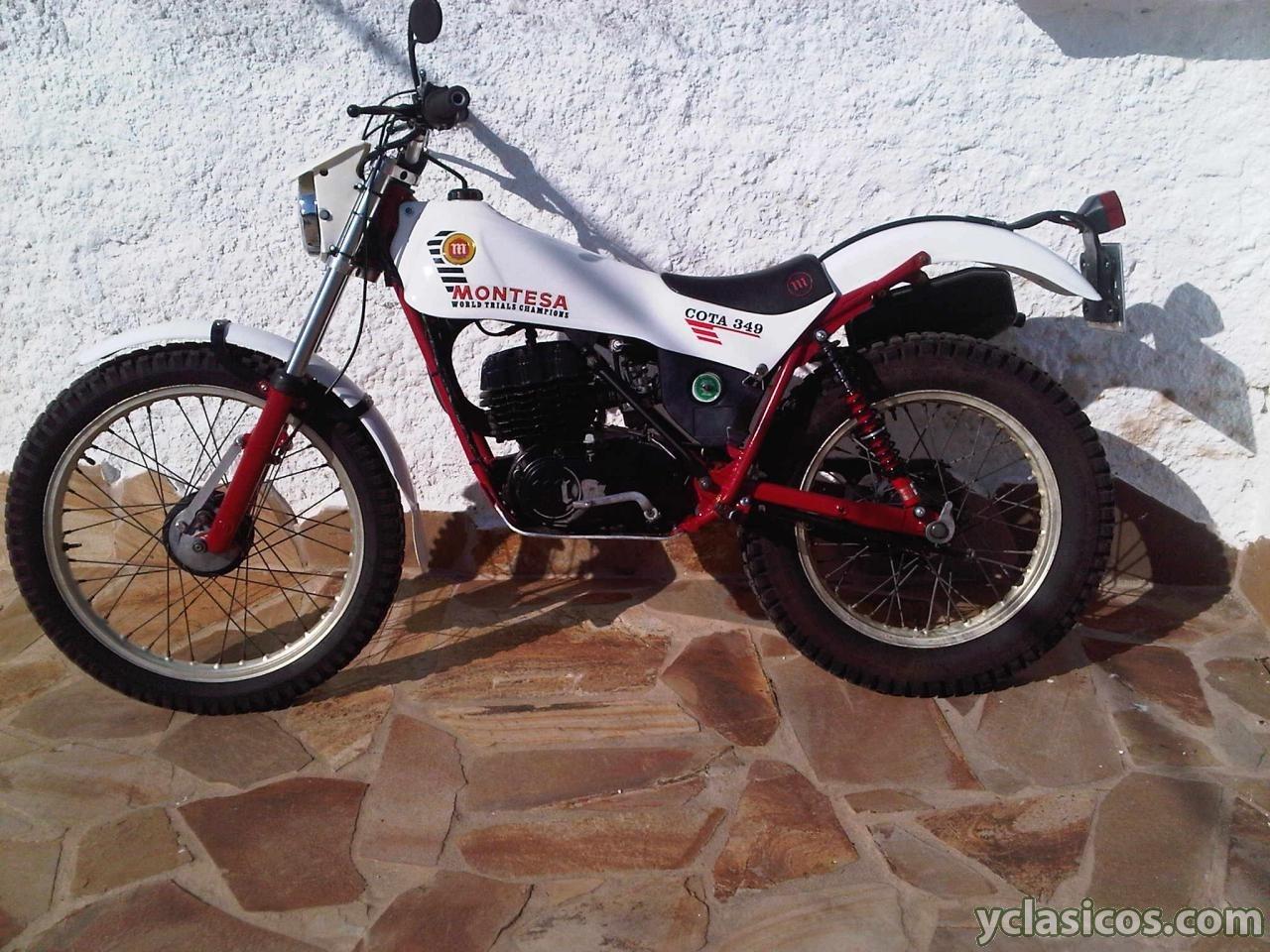 Montesa Cota 349 Blanca En Venta Portal Compra Venta Vehículos Clásicos