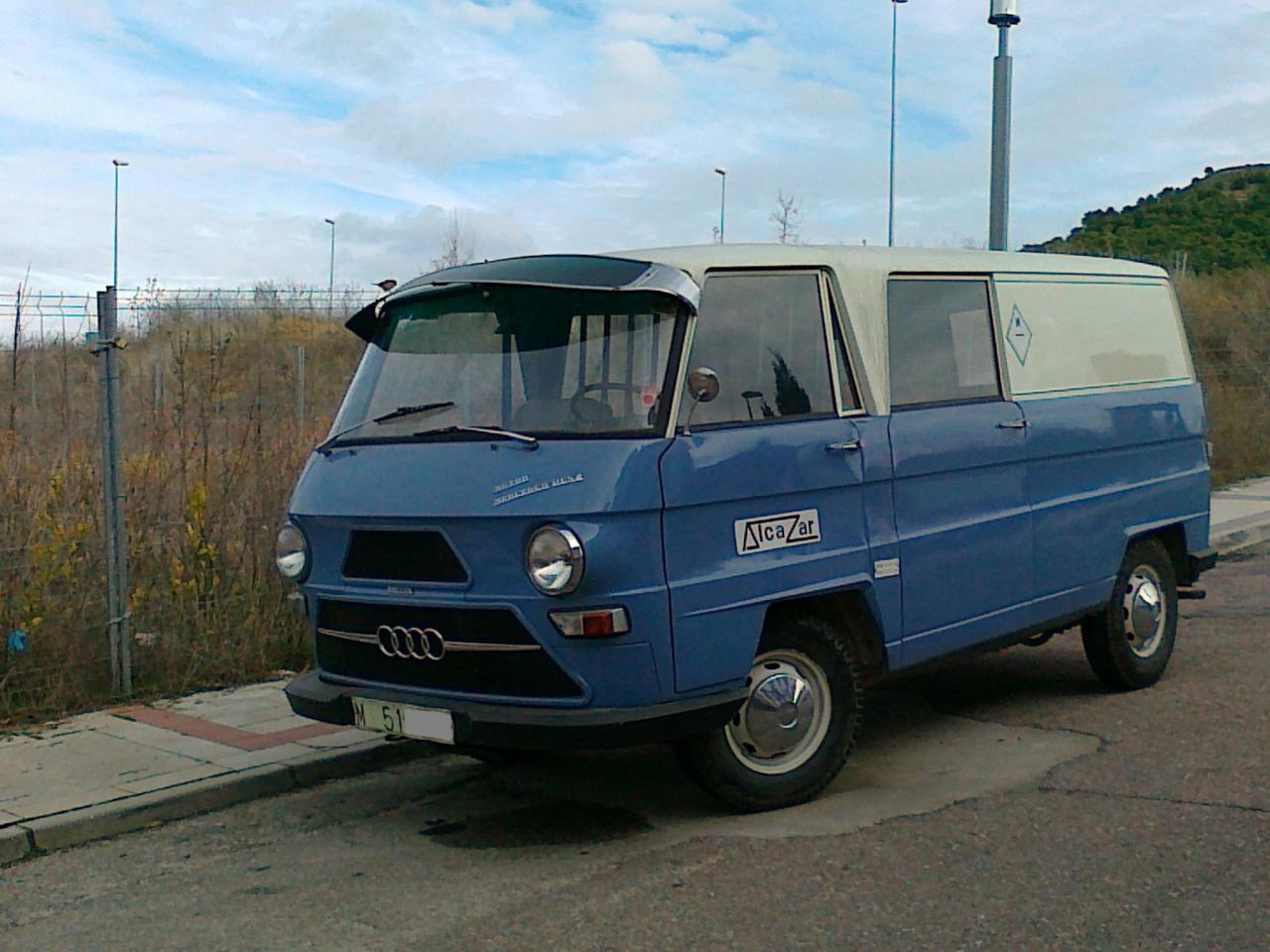 Furgoneta auto union dkw f1000d mercedes portal compra for Vendo furgoneta camper