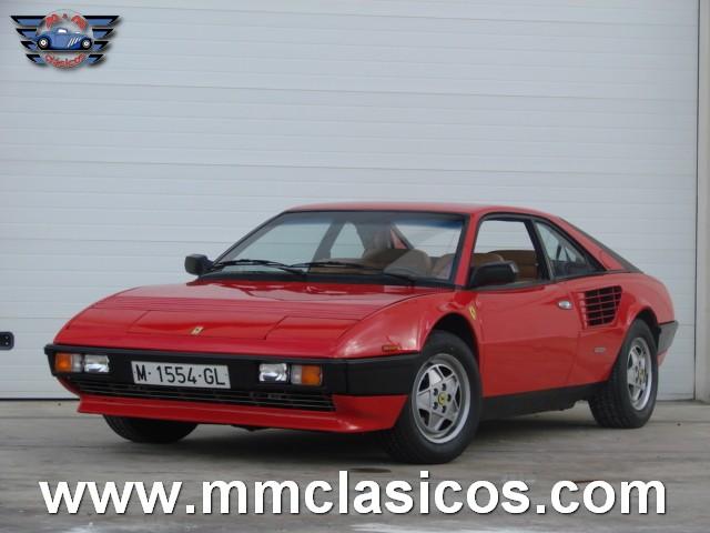 venta coche deportivo italiano ferrari mondial quattrovalvole 1985 portal compra venta. Black Bedroom Furniture Sets. Home Design Ideas