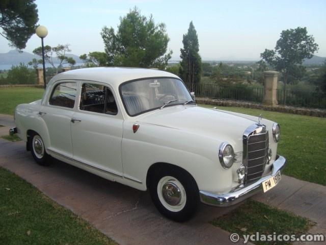 Mercedes 180d ponton 1956 for Mercedes benz 180d for sale