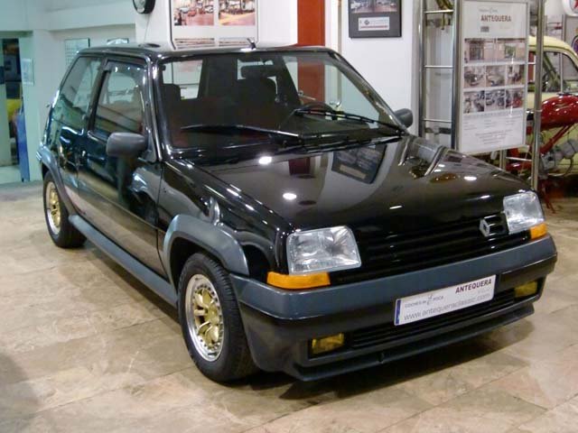 renault 5 gt turbo fase 2 a o 1987 portal compra venta veh culos cl sicos. Black Bedroom Furniture Sets. Home Design Ideas