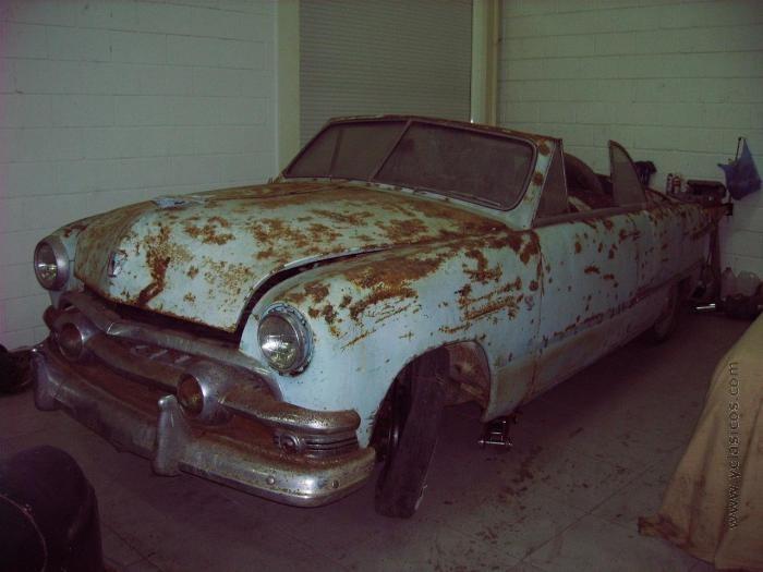 Precioso ford custom convertible para restaurar portal - Clasico para restaurar ...