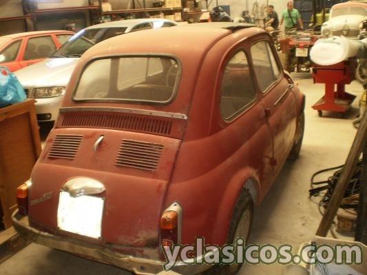 Fiat 500 techo abierto 1 serie portal compra venta - Mini clasico para restaurar ...