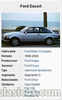 medidas ford escort