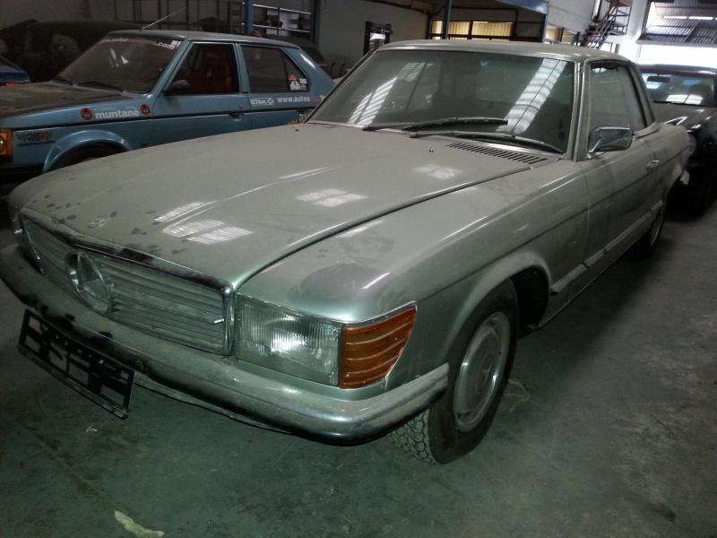 Mercedes benz slc 350 coupe para restaurar portal - Clasico para restaurar ...