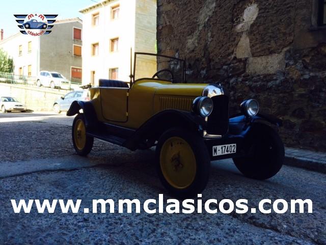 venta coche cl u00e1sico franc u00e9s citro u00ebn type c 5cv 1925