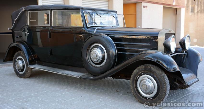 Subasta De Carros >> 250.3 Hispano Suiza Modelo: T49 Año: 1925 - Portal compra ...