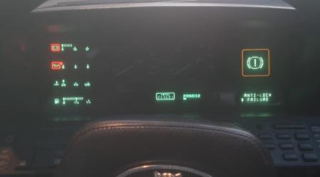 Cuadro de cuentakilómetros Jaguar XJ40