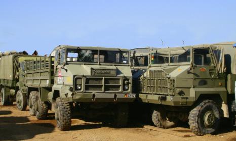Camiones Pegaso Militares del Ejercito Espa�ol